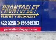 FLETES EN CORDOBA PRONTOFLET-CBA