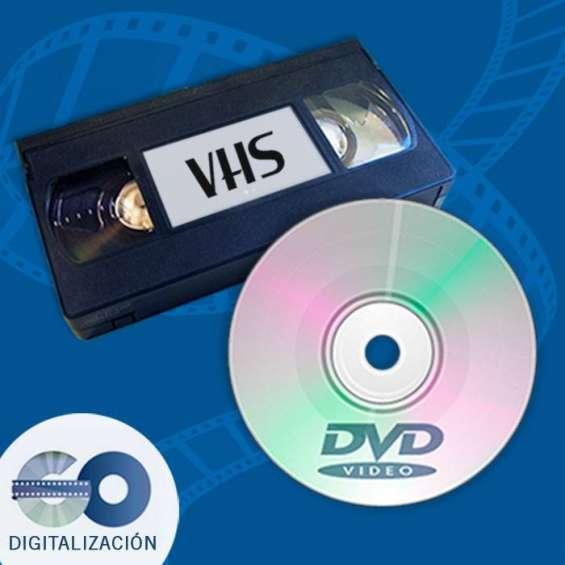 Vhs a dvd en quilmes