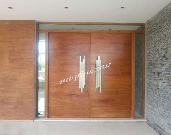 Fusion a : puerta de entrada moderna