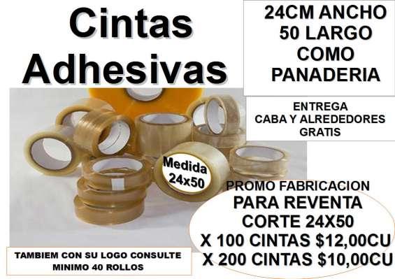 Fabric de cintas autohadesivas 24x50 para panaderias , heladerias,farmacia etc