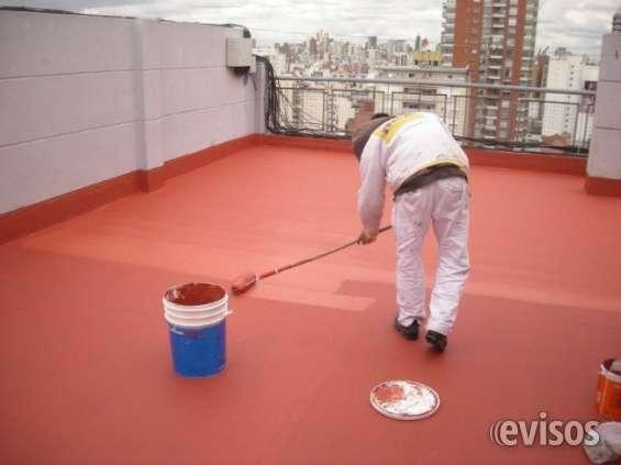 Impermeabilizacion de techos, losas y terrazas transitables