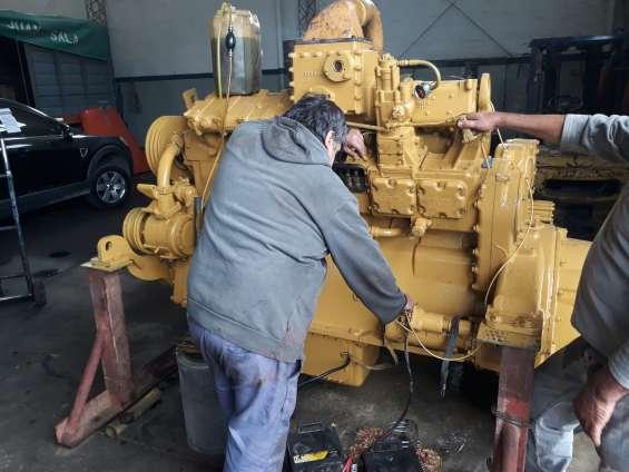 Taller mecanico y mecánica especializada para grandes motores diesel