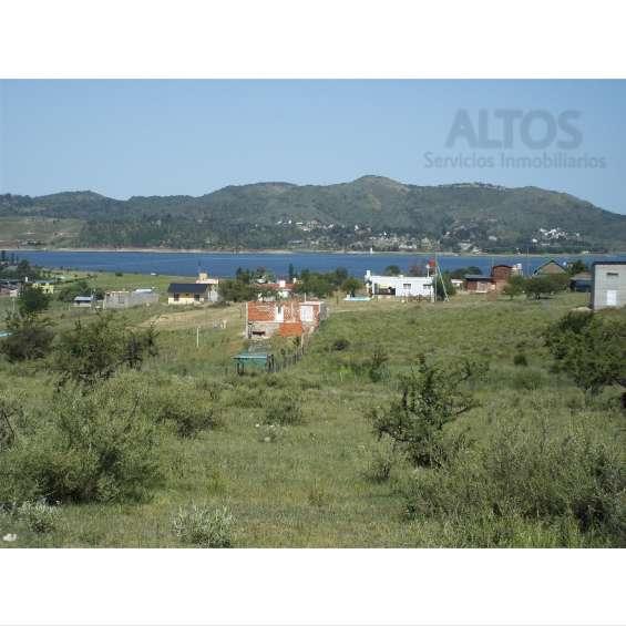 Potrero garay, terrenos c/vista lago. 1.000 mts2, escritura y servicios