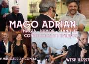 MAGO ADRIAN - HUMOR - MAGIA - STAND UP