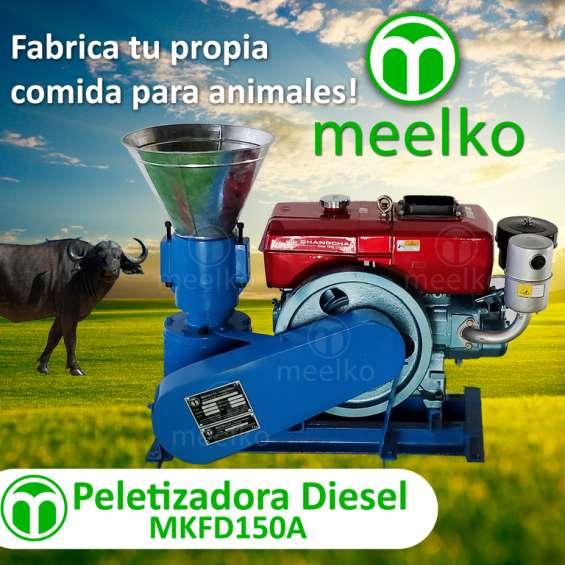 Meelko peletizadora 150 mm 8 hp diesel para concentrados balanceados mkfd150a