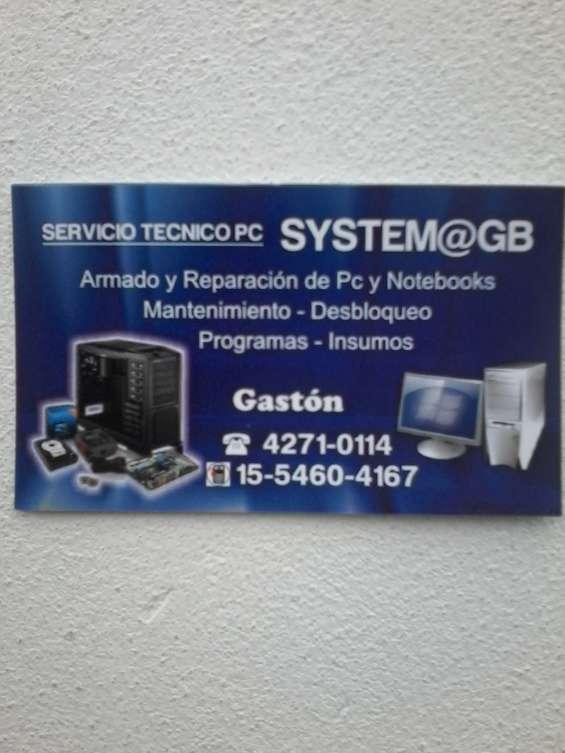 System@gb servicio tecnico pc a domicilio