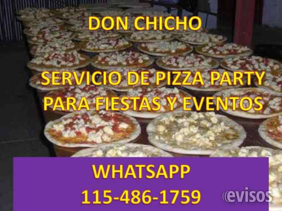 Pizza party don chicho