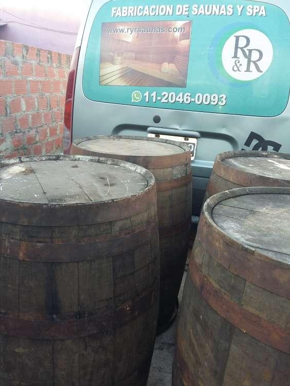 Barriles de 500 litros para reutilizar