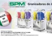 Mav granizados de jugo spm, maquina granita, gran…