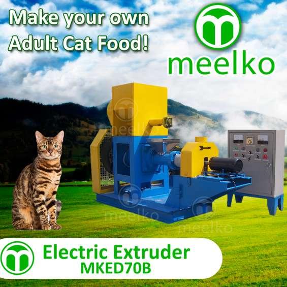 Meelko extrusora para pellets alimentacion gatosmked070b