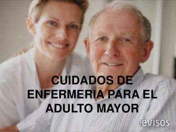 Asistente gerontologíco ! cuidado de personas mayores , higiene cónfort ,, baños ,