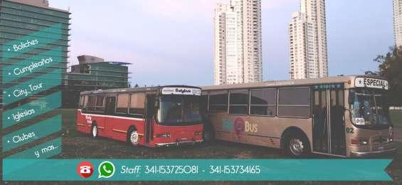 Trip@bus - traslados/alquiler de colectivos