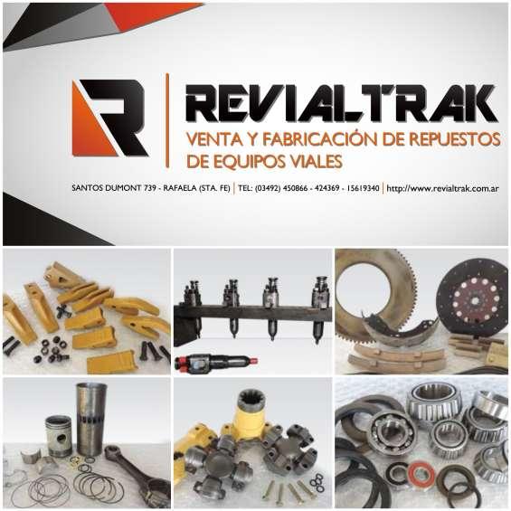 Repuestos para maquinaria vial