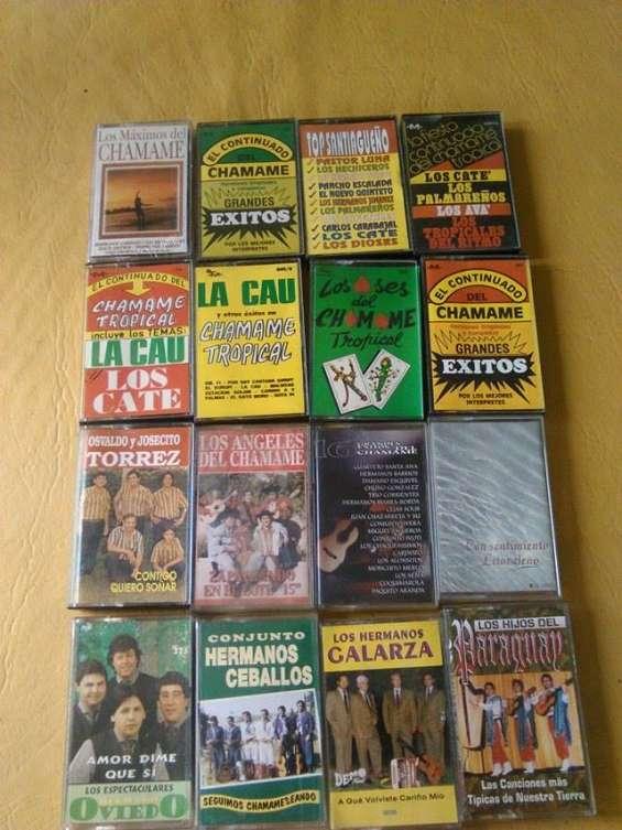 100 cassettes de chamame nuevos sin uso
