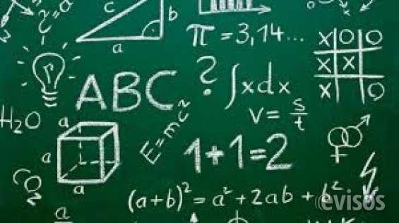 Preparo alumnos en matemáticas