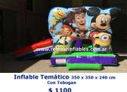 Inflable tematico