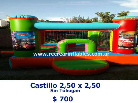 Inflable 2,50x2,50