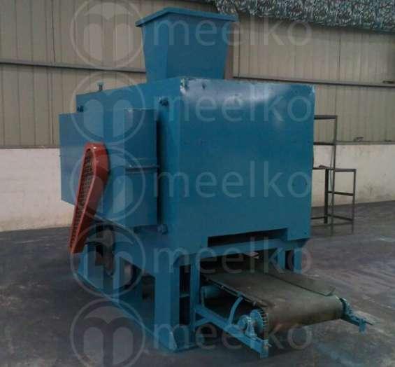 Prensa meelko para hacer briquetas de barbacoa o minerales prensados 20 y 30 tm hora.