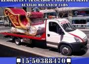 15-30256248 Grúas Camilla Remolques y Traslados Auxilio Mecánico 24HS