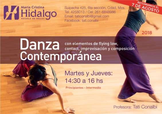 Clases de danza contemporánea mendoza 2018