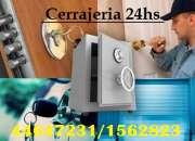 4781-1590 Cerrajería las 24HS a todo Capital - Cerrajeros a domicilio @