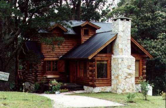 Construccion de cabañas en madera casa de troncos