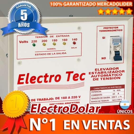 Elevadores automático de tensión 16 kva (r 160v) estabilizador
