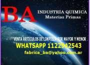 Articulos de limpieza 011-22942543 podes elaborar…