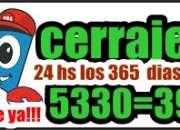 Cerrajeria san justo 24 hs 5330-3999