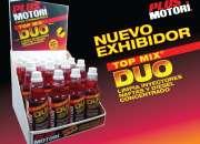 Exhibidor Limpia Inyectores Plus Motori