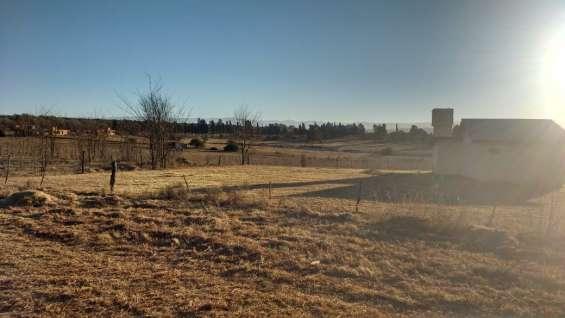 2 terrenos en villa gral belgrano, camino a la cumbrecita.
