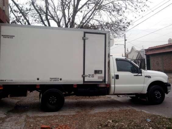 Fletes y repartos furgon termico , equipo de frio