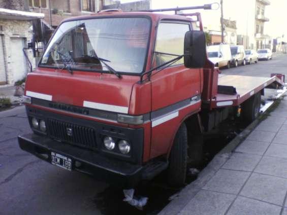 Camion grua camilla planchada