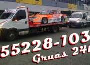 Gruas auxilio mecanico 24hs /48034660/