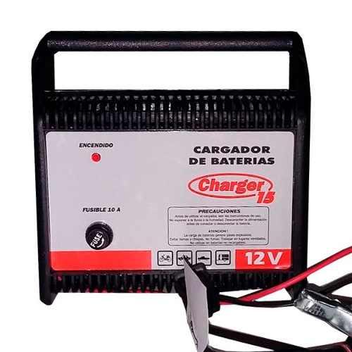 Cargadores de baterías autos charger 15 12 v con garantía.