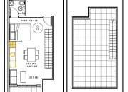 Chacarita venta en pozo monoambiente con terraza en Humboldt al 1200 2°8