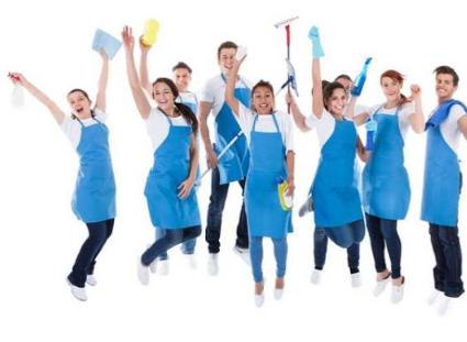 Personal de limpieza 24hs. para parques de diversiones-canchas de fútbol