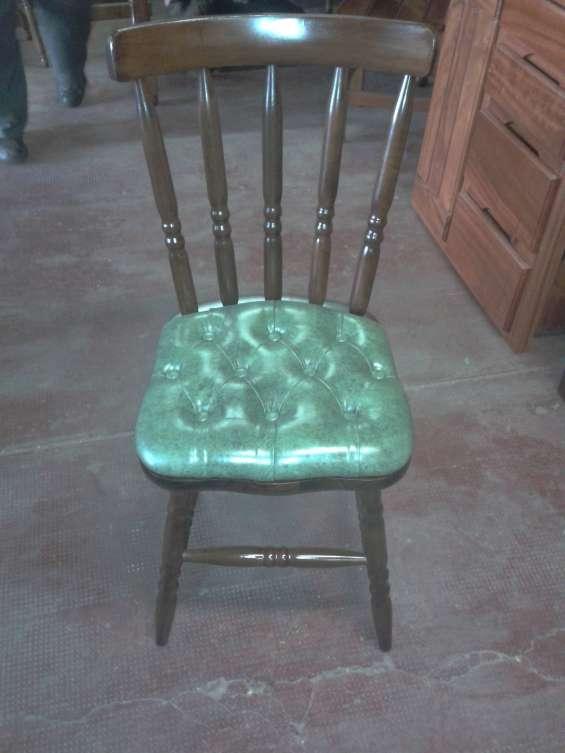 #oferta de 6 sillas federico tapizadas.#