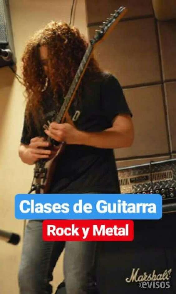 Clases de guitarra. rock y metal caba: aguero y santa fe