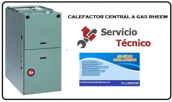 Reparacion de calefaccion central