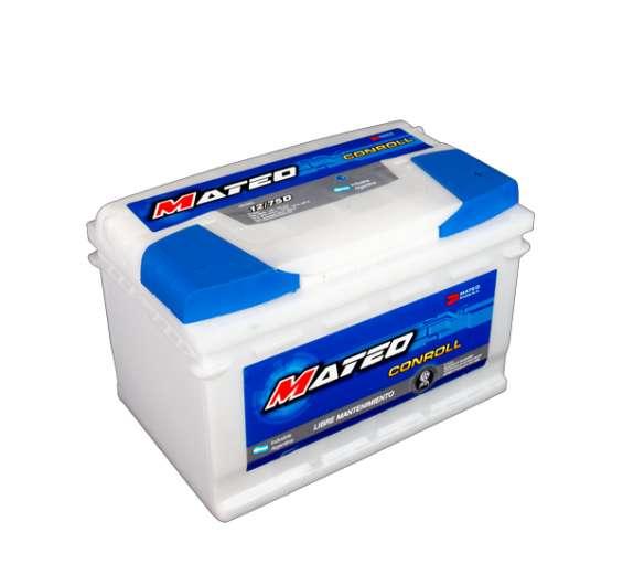 Bateria mateo 12x75d tel: 1143057966