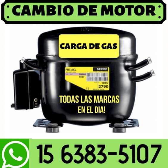 Service heladeras carga de gas tecnico 1570056900