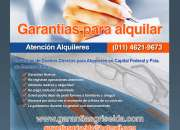 Garantias para alquileres casas /locales / etc. 1…