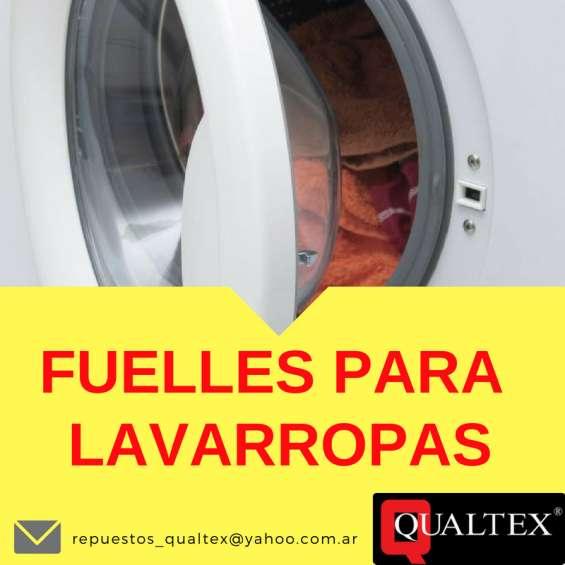 Fuelles para lavarropas automáticos