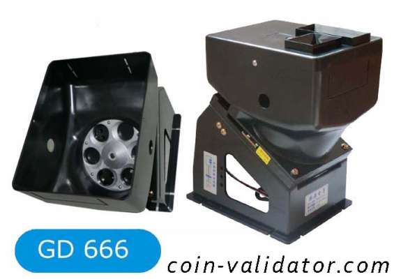 Coin hopper counter motor for coin payment change