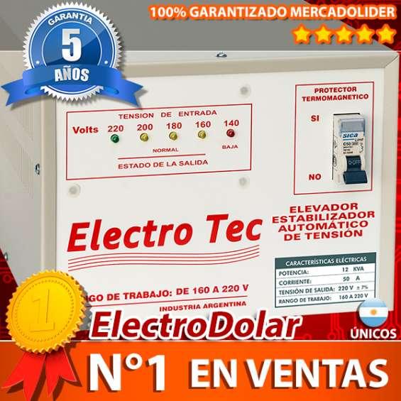 Elevador de tension 12 kva 12000 watts 011-48492747