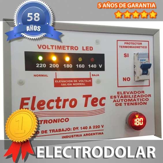 Fotos de Elevador automático de tensión 16 kva (r 160v) 011- 4849- 2747 2