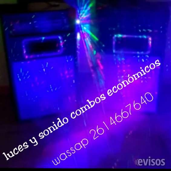 Alquilo luces led y efectos laser para fiestas cumples
