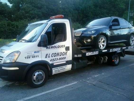 Auxilio remolques transporte de vehiculos