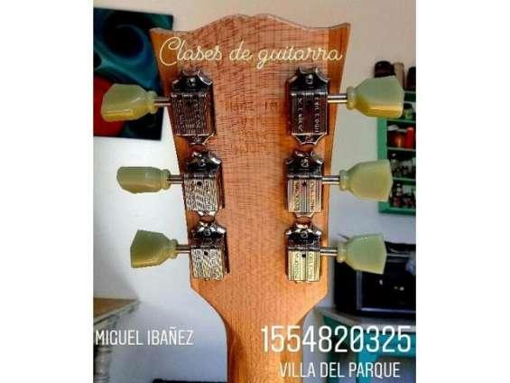 Clases de guitarra (eléctrica y criolla) zona villa del parque